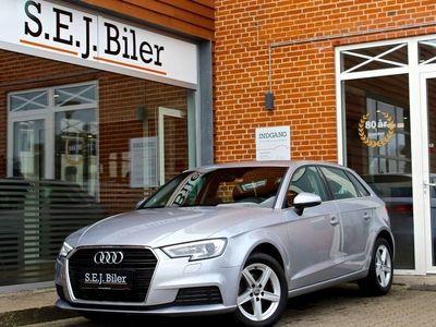 brugt Audi A3 Sportback 1,6 TDi 110HK 5d