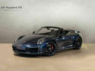 brugt Porsche 911 Carrera 4S Cabriolet 3,0 PDK