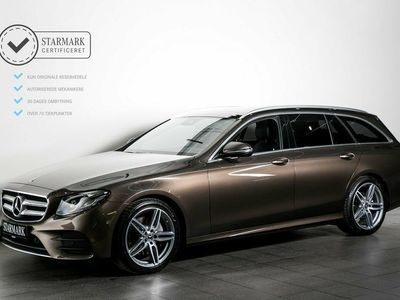 used Mercedes E220 2,0 AMG Line stc. aut.