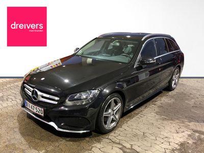 brugt Mercedes C200 1.6, 136 HK, AMG Line Stationcar