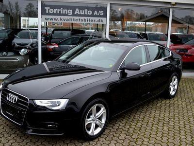 brugt Audi A5 Sportback 2,0 T FSI 225HK 5d 6g