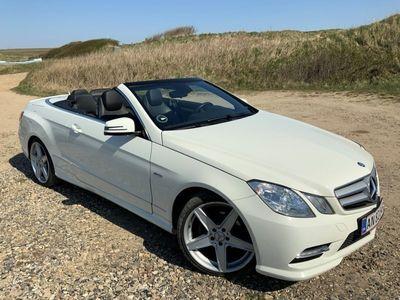 usado Mercedes E200 8 CGI BlueEfficiency 184HK Cabr. Aut.