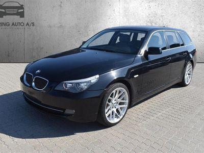brugt BMW 523 i Touring 2,5 190HK Stc 6g Aut. - Personbil - Sort