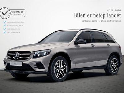 brugt Mercedes GLC220 d 2,2 Night Edition aut. 4-M