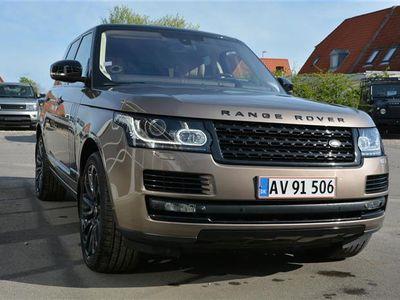 brugt Land Rover Range Rover 5,0 V8 S/C Autobiography 4x4 510HK 5d 8g Aut.