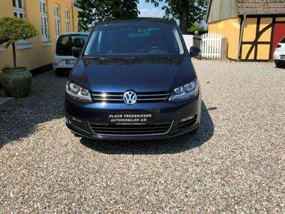 brugt VW Sharan 2,0 TDi 177 Cup DSG BMT 7prs