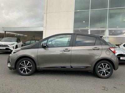 brugt Toyota Yaris 1,5 VVT-I T2 Premium Smart 111HK 5d 6g A+