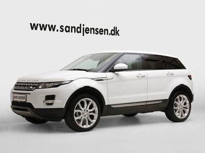 brugt Land Rover Range Rover evoque 2,2 SD4 Prestige aut.