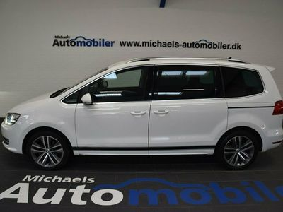 begagnad VW Sharan 2,0 TDi 140 Highline DSG BMT
