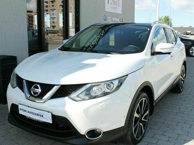 brugt Nissan Qashqai 1,5 dCi 110 Tekna+