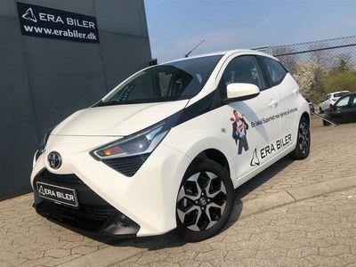 brugt Toyota Aygo 1,0 VVT-I X-Play + Go pakke + DAB+ 72HK 5d