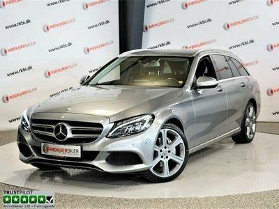 brugt Mercedes C250 d 2,2 Avantgarde stc. aut.