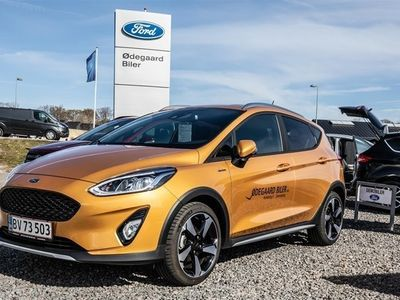 used Ford Fiesta 1,0 EcoBoost Active II 140HK 5d
