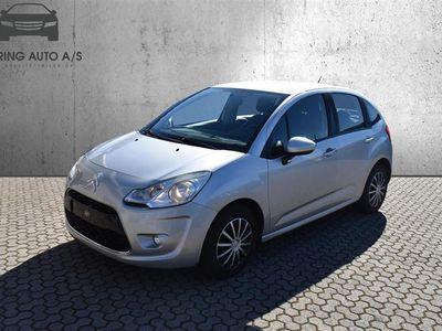 brugt Citroën C3 1,6 HDI Seduction 90HK 5d - Personbil - sølvmetal