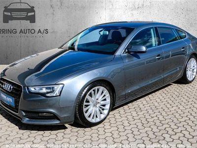 brugt Audi A5 3,0 TDI quattro aut. 245HK 5d - Personbil - gråmetal