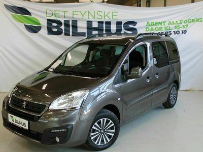 brugt Peugeot Partner Tepee 1,6 BlueHDi 100 Active ESG