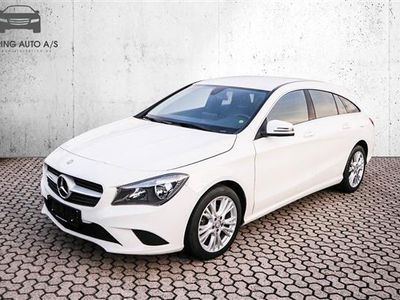 used Mercedes CLA200 Shooting Brake 2,1 CDI 136HK Stc 6g - Personbil - Hvid