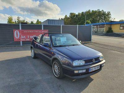 brugt VW Golf Cabriolet III 2,0 Avantgarde aut.