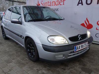 brugt Citroën Saxo 1,6 Innovation 100HK 3d