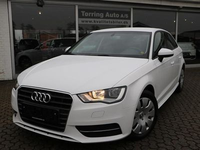 brugt Audi A3 Sportback 1,6 TDI Ultra Attraction 110HK Stc 6g