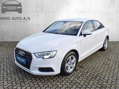 brugt Audi A3 1,0 TFSI S Tronic 116HK 7g Aut. - Personbil - hvid