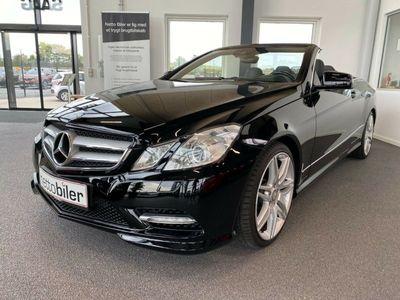 brugt Mercedes E350 0 CDi Cabriolet aut. BE