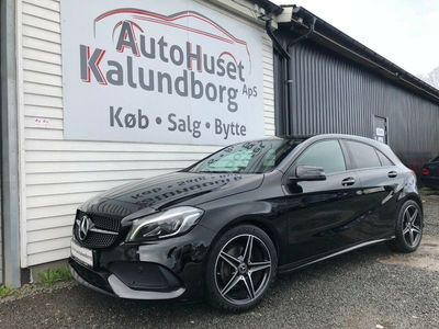 brugt Mercedes A180 1,6 AMG Line