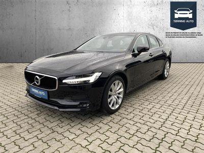 brugt Volvo S90 2,0 D4 Momentum 190HK 8g Aut. - Personbil - Sort
