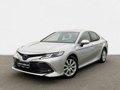 brugt Toyota Camry 2,5 VVT-I Hybrid H3 218HK Aut. A+