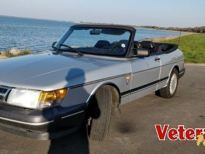 brugt Saab 900 Cabriolet Turbo 16.