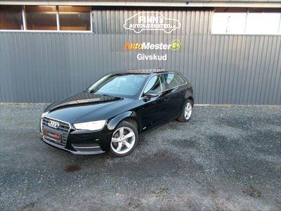 brugt Audi A3 Sportback 2,0 TDI Ambiente S Tronic 150HK Stc 7g Aut.