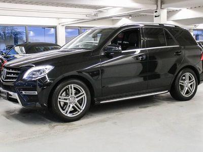 brugt Mercedes ML350 3,5 aut. 4-M BE Van
