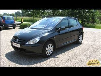 used Peugeot 307 1,6 Benzin Edition personbil
