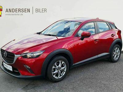 brugt Mazda CX-3 2,0 Skyactiv-G Core 120HK 5d 6g