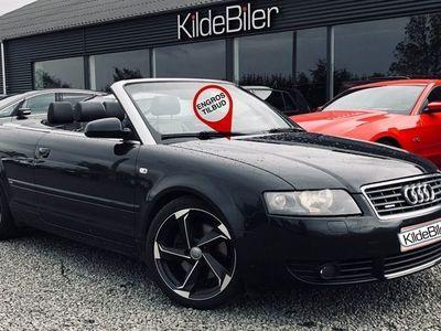 brugt Audi A4 Cabriolet 3,0 quattro Tiptr.