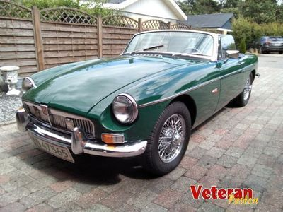 brugt MG B roadsted 1800