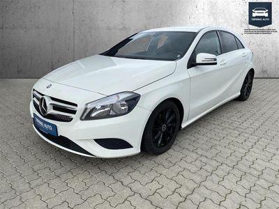 brugt Mercedes A180 d 1,5 CDI BlueEfficiency 109HK 5d 6g - Personbil - Hvid