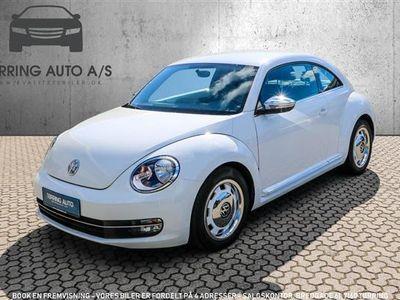 gebraucht VW Beetle 1,2 TSI BMT Life 105HK 3d 6g - Personbil - hvid