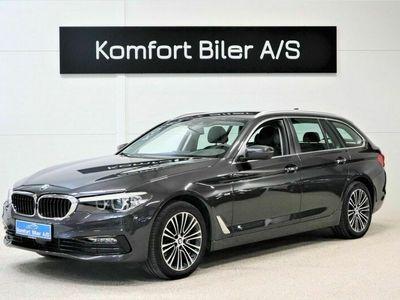 brugt BMW 520 d Touring Sport Line aut. 2,0