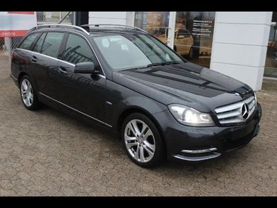 brugt Mercedes C220 2,2 CDi Avantgarde st.car aut. BE 5d