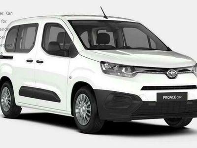 brugt Toyota Verso Proace CityMedium 1,5 D Combi 102HK 6g