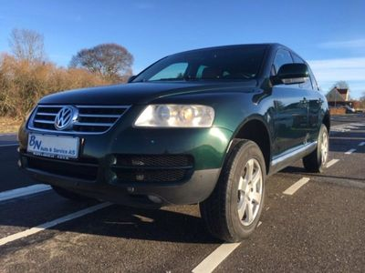 used VW Touareg 2,5 TDi Tiptr.