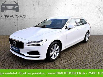 brugt Volvo V90 2,0 D4 Momentum 190HK Stc 8g Aut. - Personbil - hvid