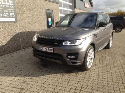 brugt Land Rover Range Rover Sport 3,0 SD V6 Autobiography Dynamic Pack 4WD 306HK 5d 8g Aut.