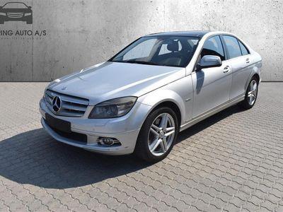brugt Mercedes C350 d 3,0 CDI 224HK 7g Aut. - Personbil - Sølvmetal