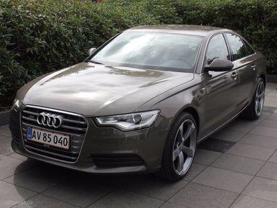 brugt Audi A6 3,0 TDI Multitr. 204HK Trinl. Gear