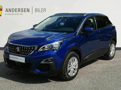 brugt Peugeot 3008 1,2 PureTech style 130HK 5d