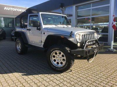 brugt Jeep Wrangler Unlimited 3,8 Sahara aut.