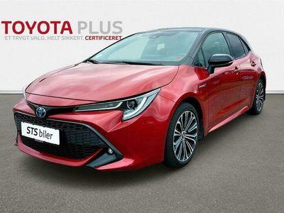 brugt Toyota Corolla 1,8 Hybrid H3 Design E-CVT 122HK 5d Trinl. Gear