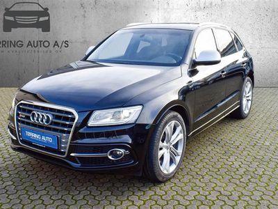 brugt Audi SQ5 3,0 biturbo TDI Quattro Tiptr. 313HK 5d 8g Aut. - Personbil - sortmetal